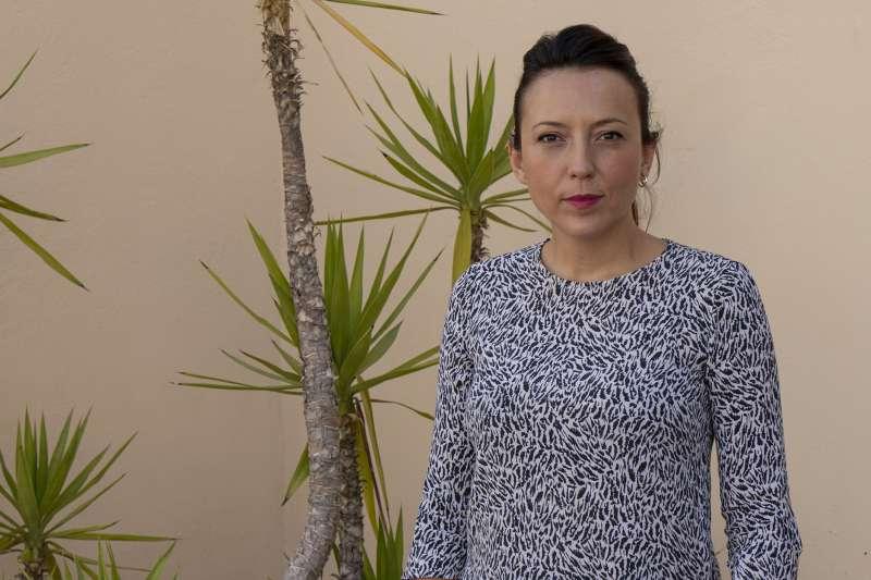 La concejala de Comercio, Gloria Parra.