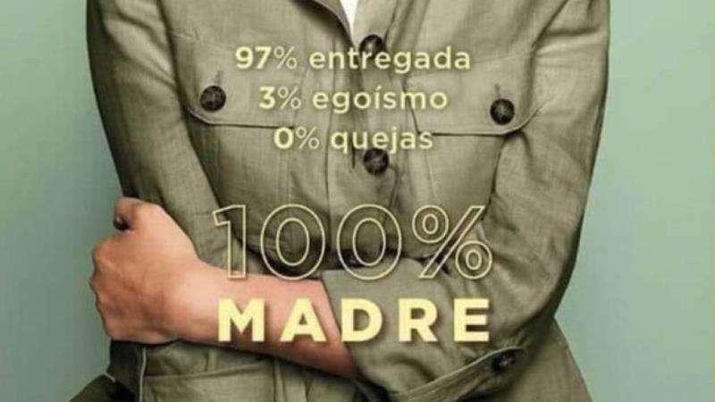 Parte del cartel de la campaña del Día de la Madre de El Corte Inglés. EFE