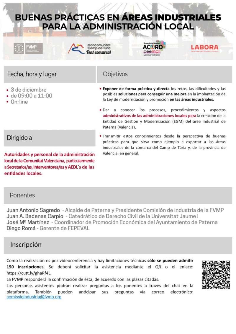 Cartell informatiu de les àrees industrials. / EPDA