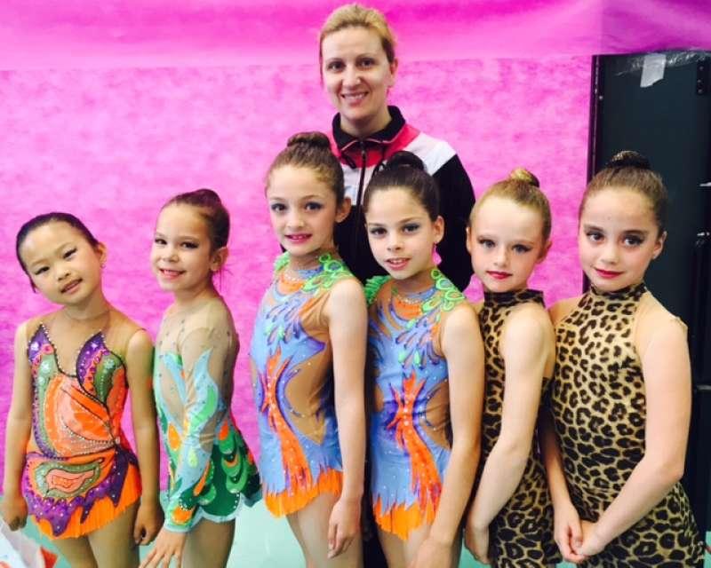 Las chicas de la entrenadora Boryana Docheva