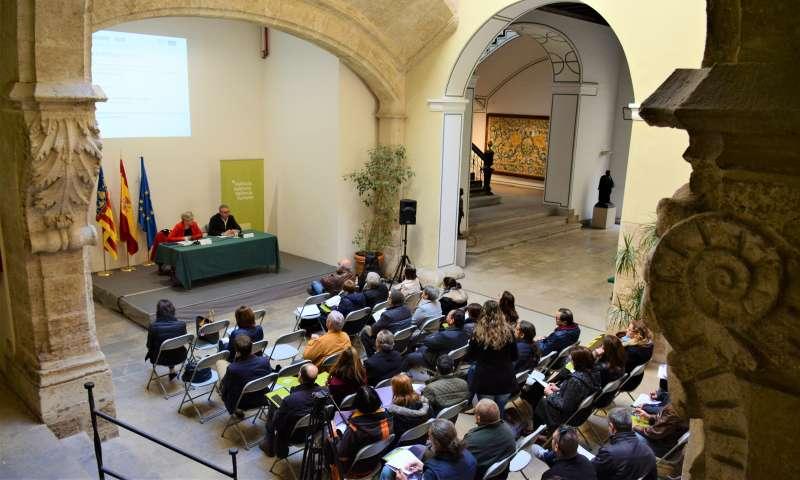 Pilar Moncho en la presentación de las ayudas públicas del Patronat de Turisme de València para 2018