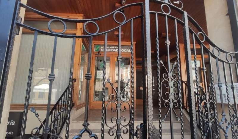 La oficina del INSS permanece cerrada