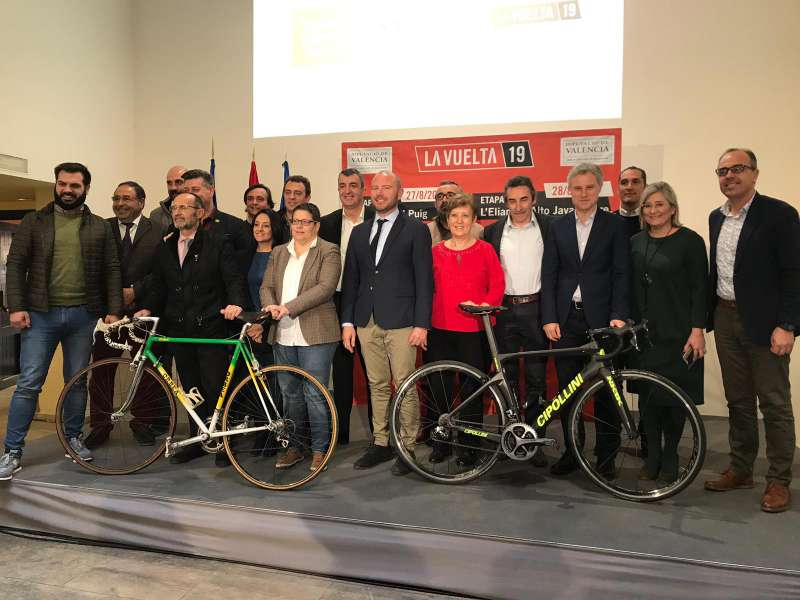 Presentación de la vuelta ciclista./epda