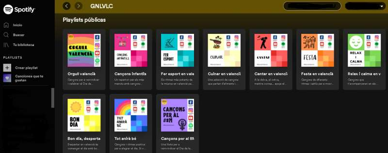 Nuevas listas del Ayuntamiento de València. EPDA