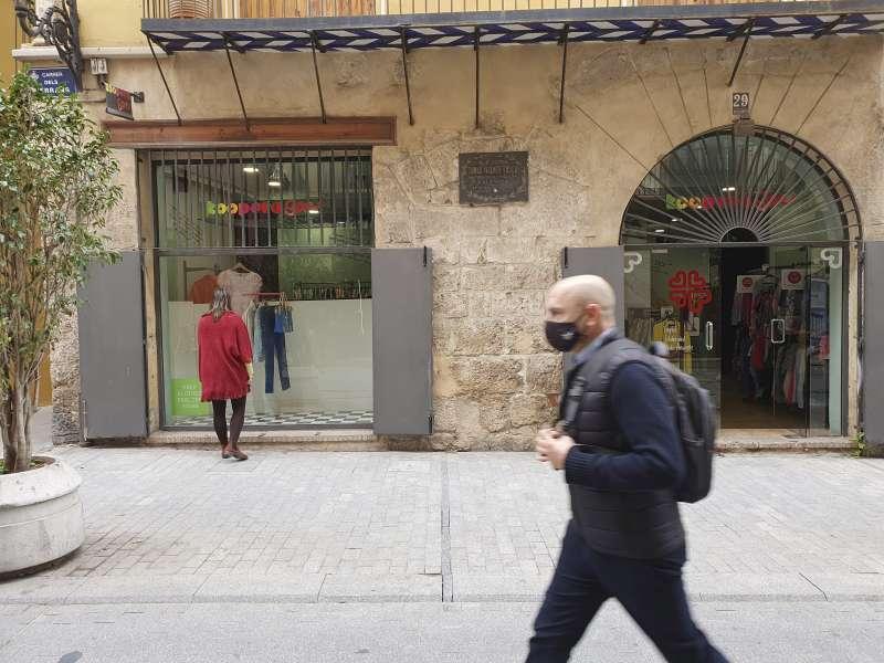 Tienda de Caritas. EPDA