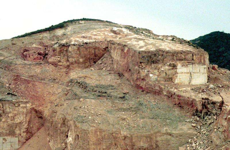 Vista de una cantera en una imagen de archivo. EFE/Archivo