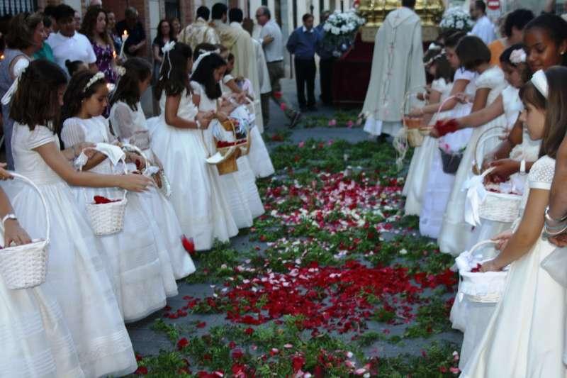 Celebración del Corpus en Moncada. EPDA