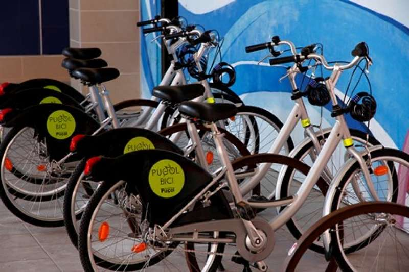 Servicio de préstamo de bicicletas. EPDA