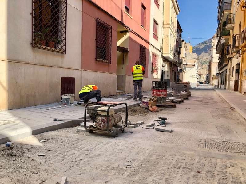 Obras en el barrio/EPDA