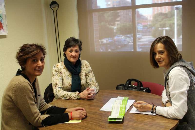 Regina Llavata reunida amb la Secretaria Autonòmica d