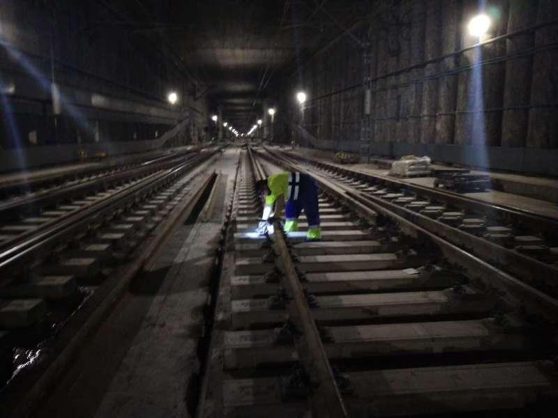 Obras en la estación/EPDA