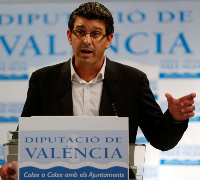 El expresidente de la Diputación de Valencia Jorge Rodríguez. EFE/Archivo