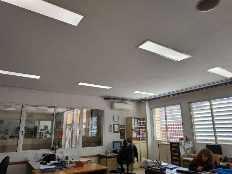 Se han instalados lámparas led