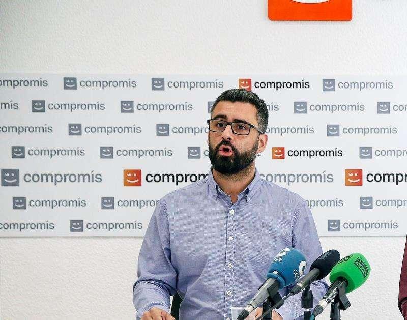El portavoz de Compromís en el Ayuntamiento de València, Pere Fuset. EFE/Archivo