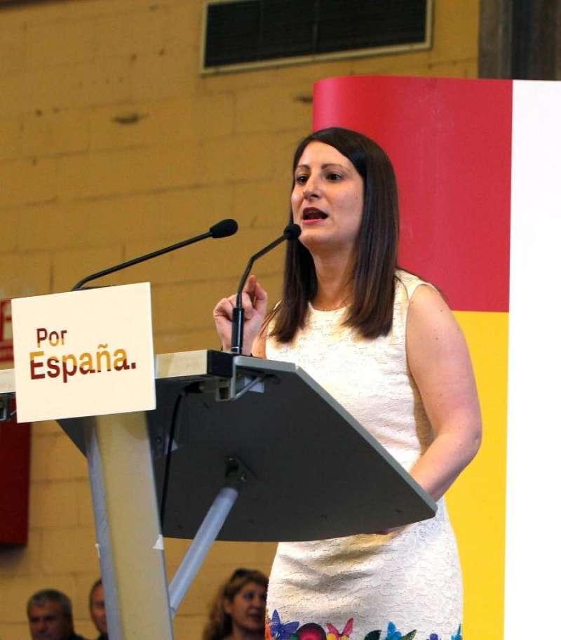 La diputada de Vox en Les Corts, Ana Vega. EFE/Archivo