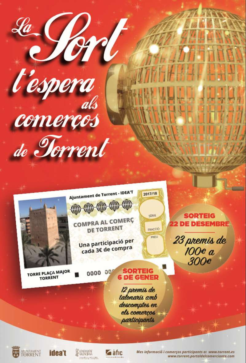 Campanya del comerç de Torrent per Nadal. EPDA