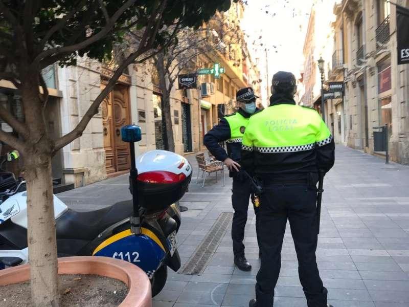 Policía Local en Alicante / EPDA