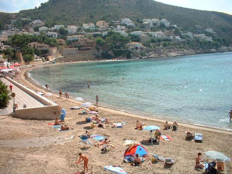 Playa del Portet de Teulada