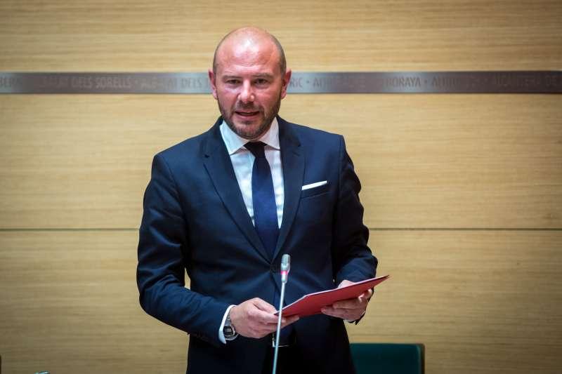 Toni Gaspar, presidente de la Diputació de València