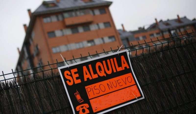 Una vivienda en alquiler en Valencia. EFE