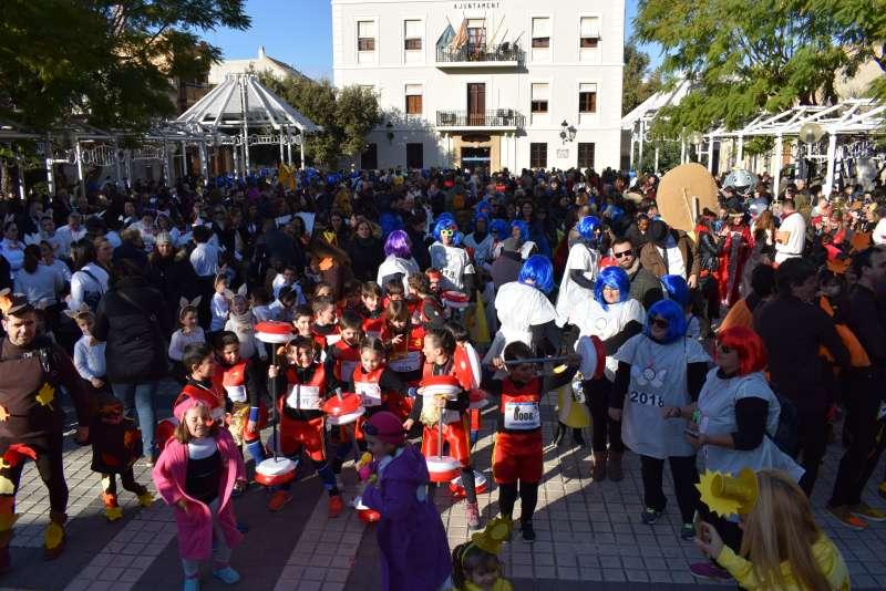 Carnaval en Benetússer. EPDA