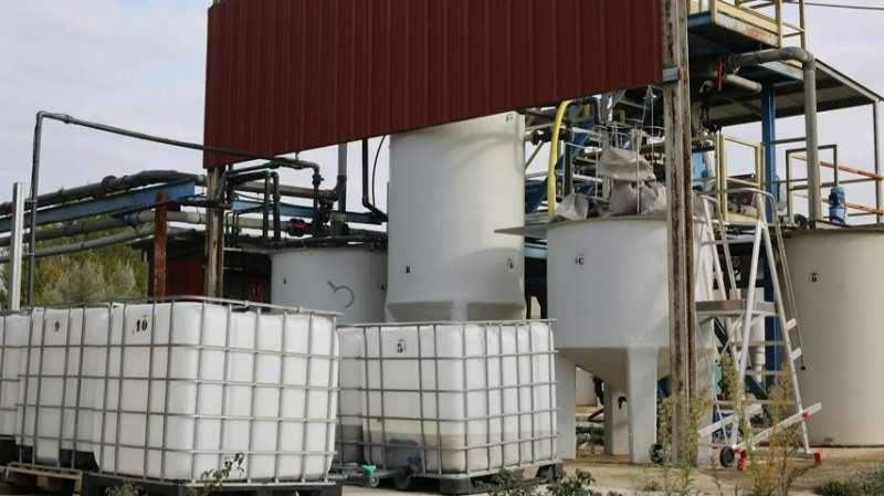 Planta de producción de estruvita Segorbe. EPDA