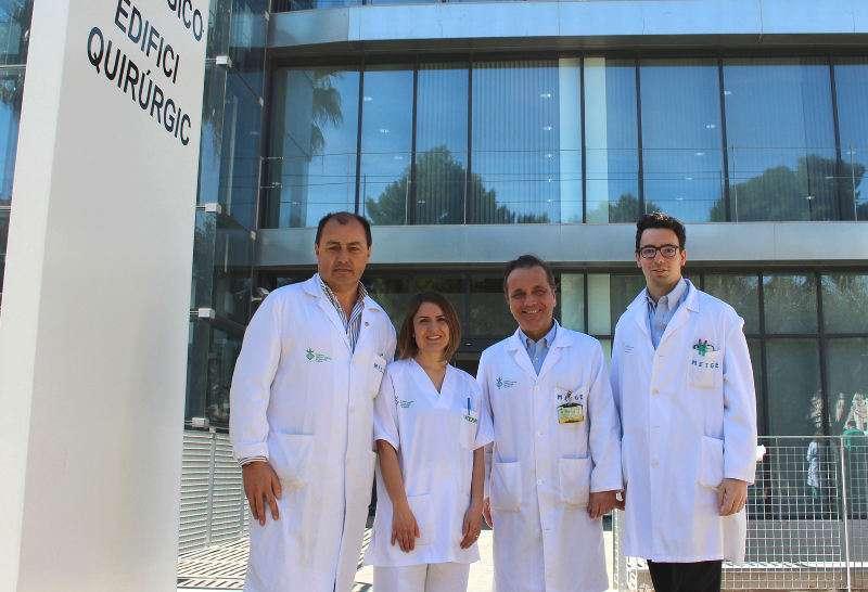 Equipo del Hospital General de Valencia encargado de las donaciones de órganos. EPDA
