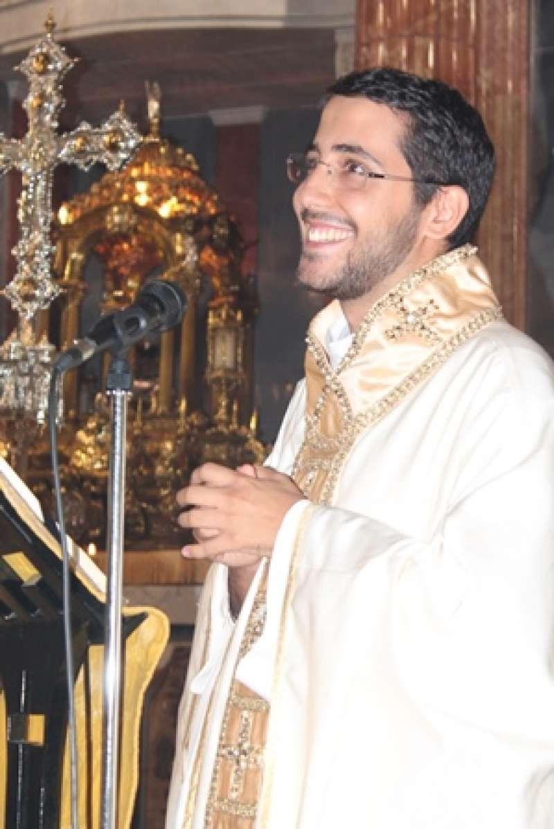 El párroco José Mas. EPDA