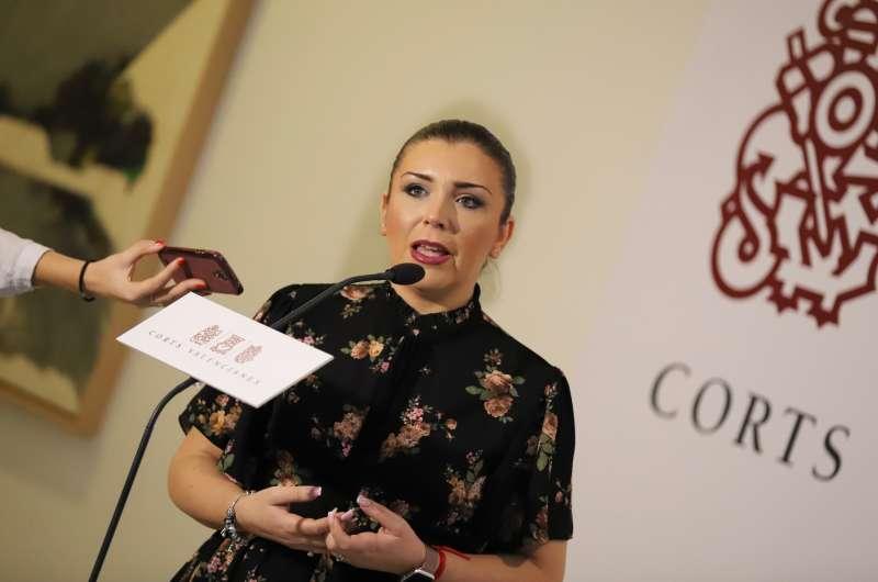La síndica de Cs, Mari Carmen Sánchez.