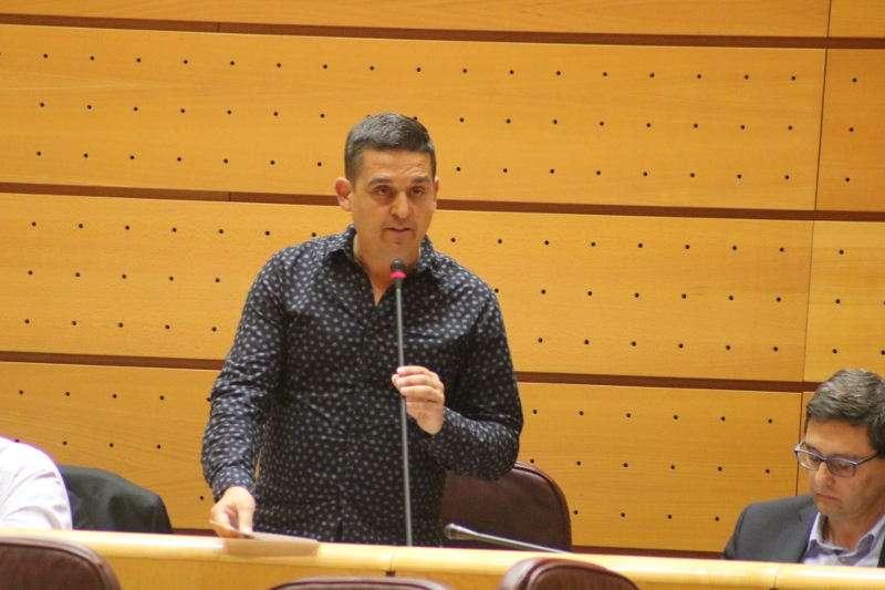 Senador de Compromís, Carles Mulet. EPDA