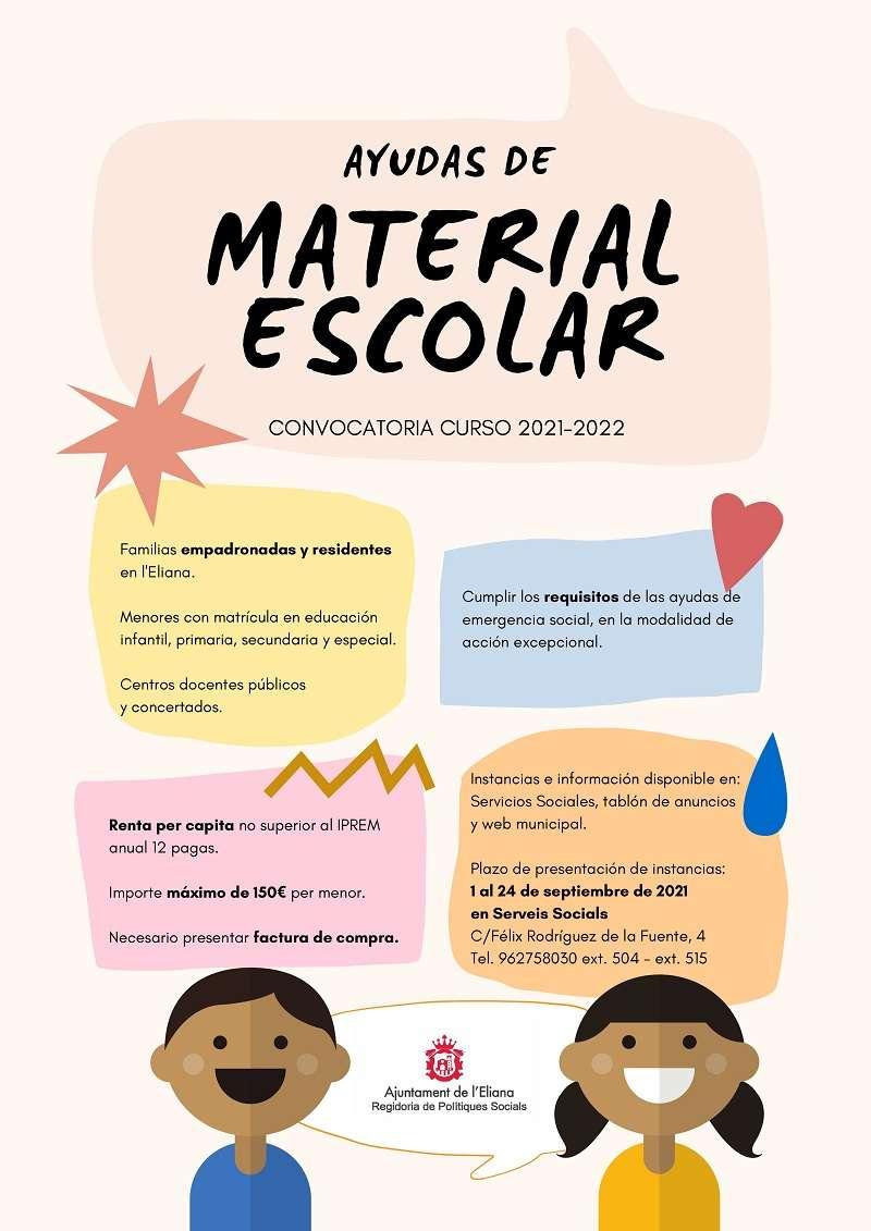 Ajudes de material escolar