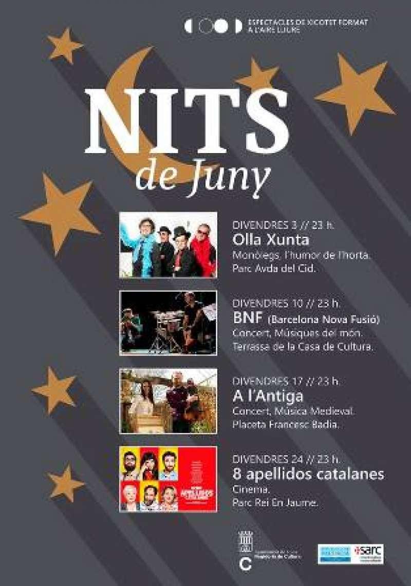 Programa cultural para junio. EPDA