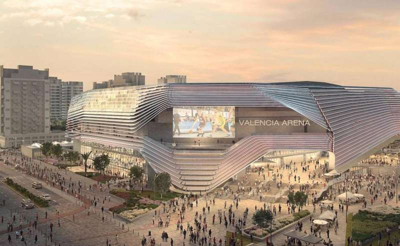 Foto archivo Pabellón Casal España Arena de València