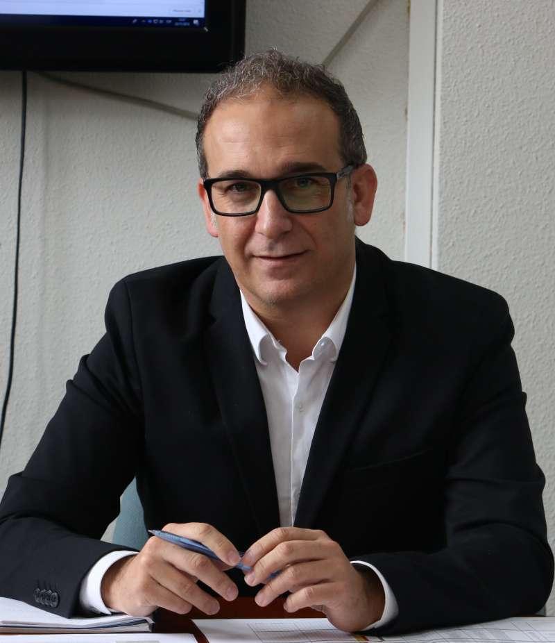 El Portavoz del Grupo Socialista y concejal de Desarrollo Urbano Sostenible, Juan Medina -EPDA