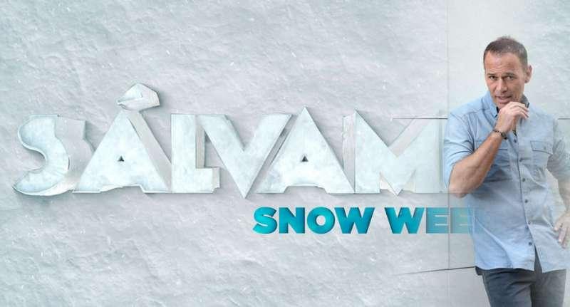 Carlos Lozano presenta Sálvame Snow Week. //EPDA