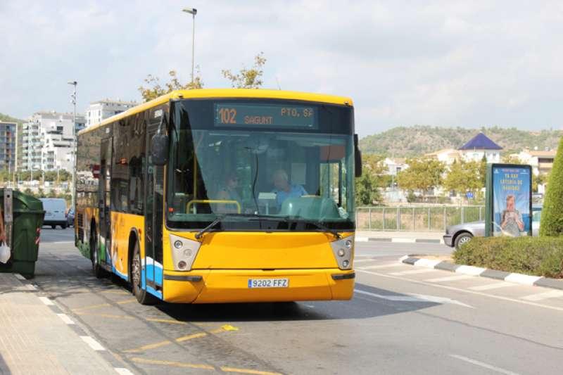 Autobús urbano de Sagunt. EPDA
