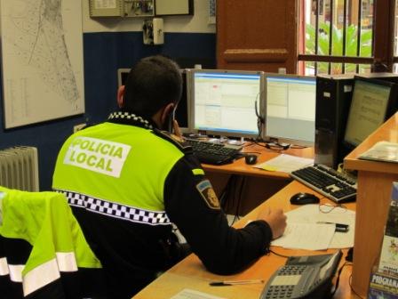 Imagen de la oficina de Policía. FOTO: EPDA
