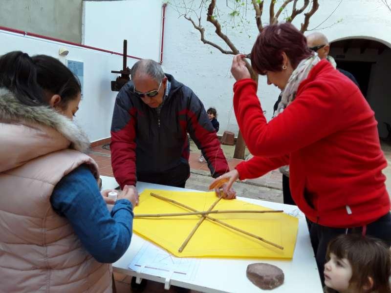 Taller de cachirulos en el Museu Comarcal de l