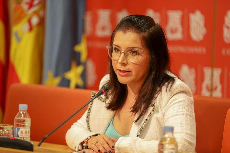La síndica del grupo parlamentario Ciudadanos (Cs) en Les Corts Valencianes, Mari Carmen Sánchez.