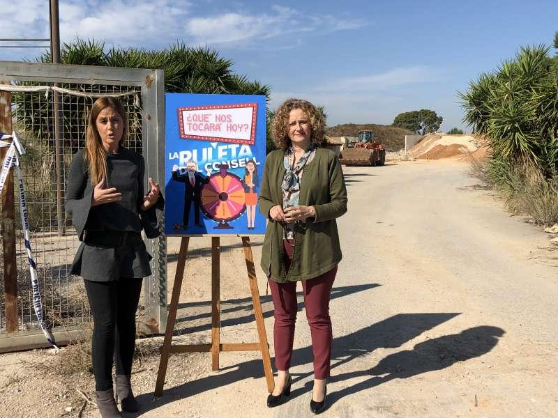 Elisa Díaz y Amparo Folgado. EPDA