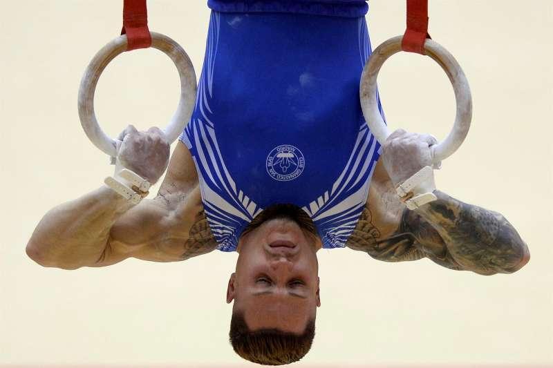 El gimnasta Néstor Abad. EFE