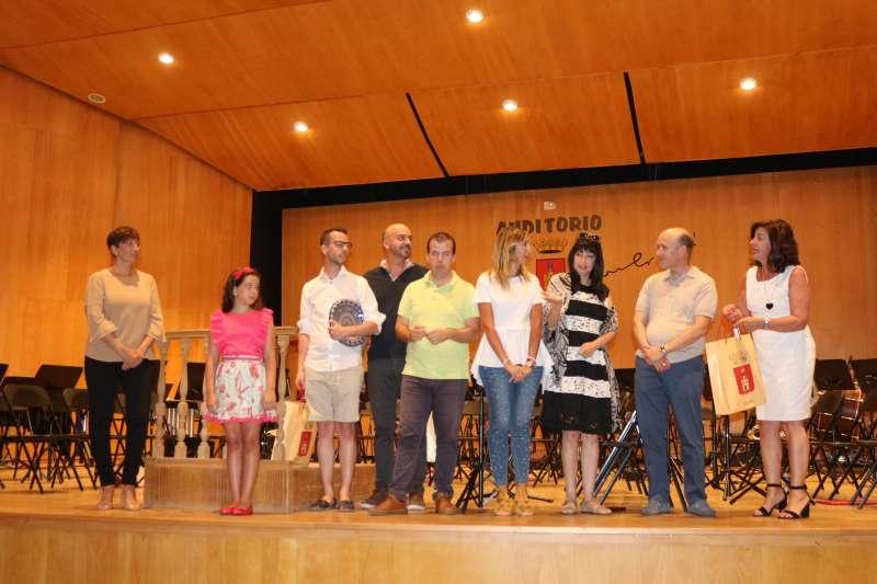 Entrega de premios en el auditorio