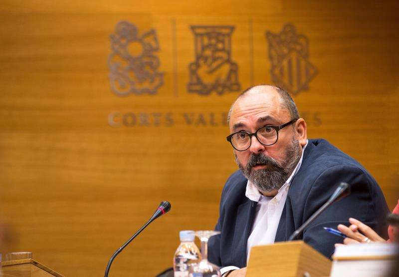 El secretario autonómico de Empleo, Enric Nomdedéu. EFE/Bruque/Corts