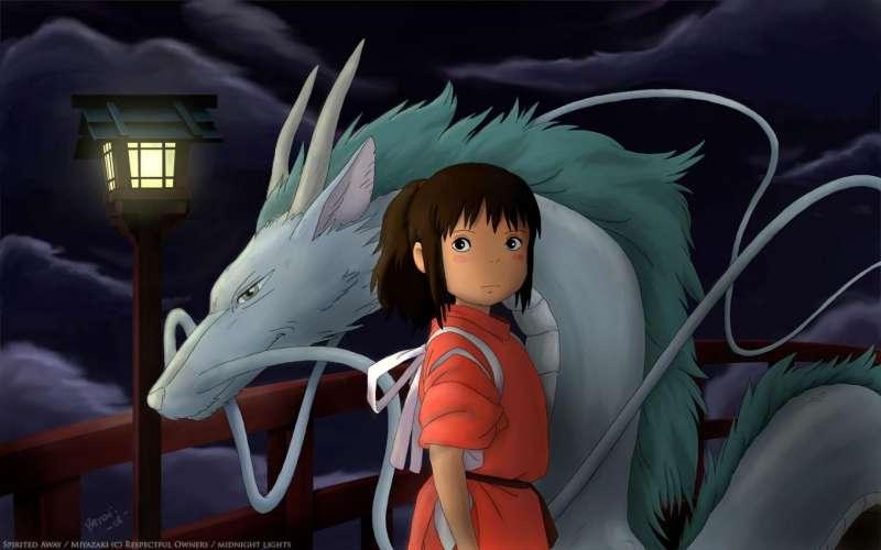 Fotograma de una película de género anime