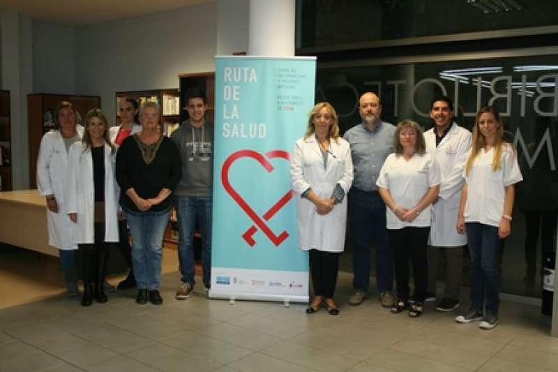 Los expertos de la Ruta de la Salud visitan Almàssera. EPDA
