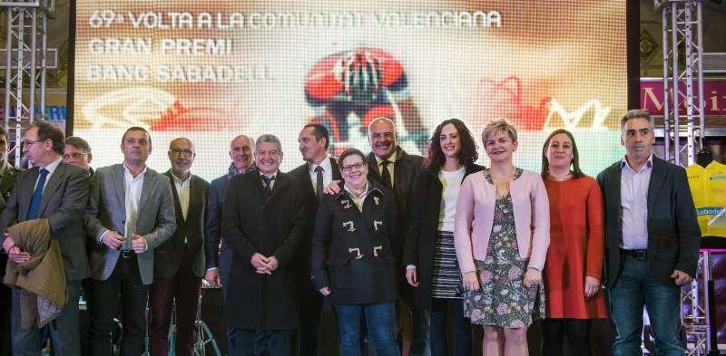Presentació de la Volta Ciclista a la Comunitat Valenciana.