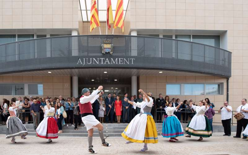 Baile valenciano en Canet. EPDA