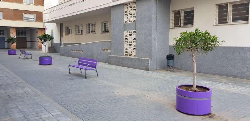 Mobiliario urbano de Benetússer