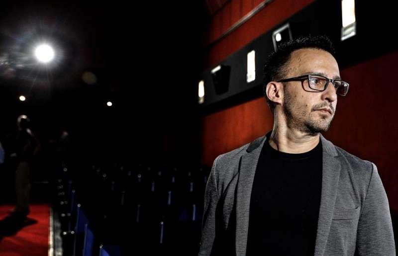 El director de cine Alejandro AMenabar presenta en Valéncia su última película