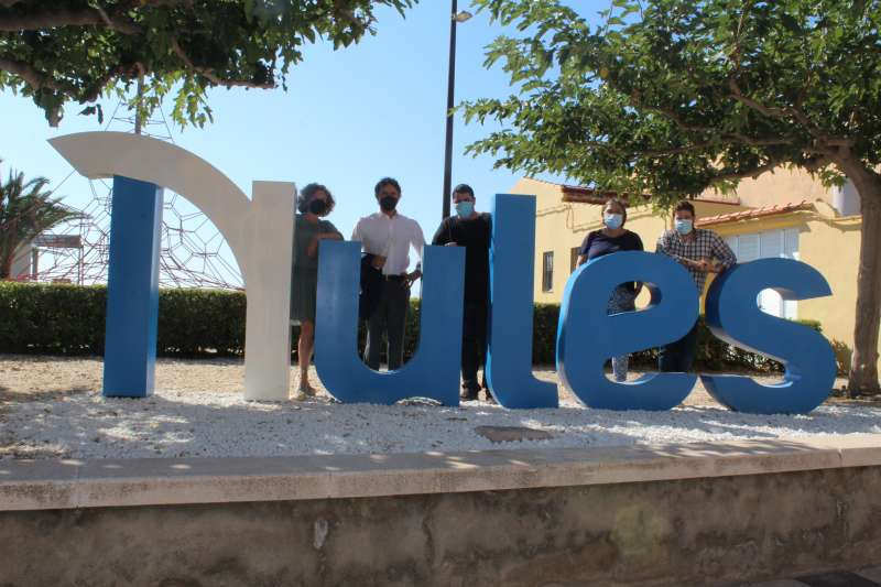 Visita de Francesc Colomer a Nules/EPDA